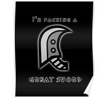 Monster Hunter Great Sword Poster