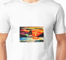 Retro Sunset Unisex T-Shirt