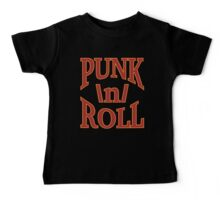 Punk'n'Roll - Logo of the punknroll.net Web Site Baby Tee