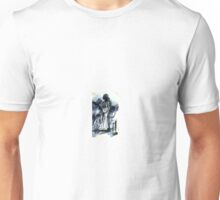 Abstract surrealist painting of person Unisex T-Shirt
