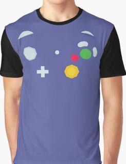 Minimalistic GameCube Controller Graphic T-Shirt
