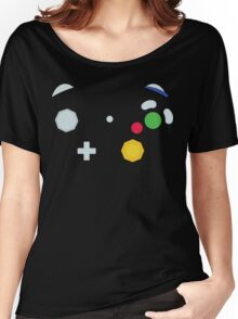 Minimalistic GameCube Controller Women's Relaxed Fit T-Shirt
