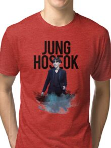 Hoseok Water Color Tri-blend T-Shirt