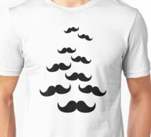 Flying Mustaches Unisex T-Shirt