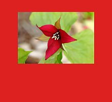 Red Trillium Womens Fitted T-Shirt