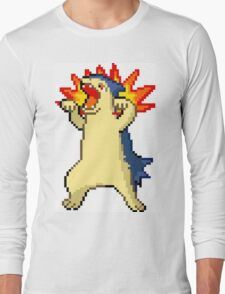 RAWR Typhlosion!!! Long Sleeve T-Shirt