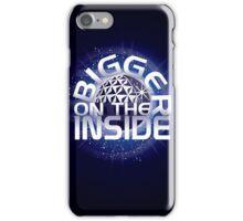 SSE-Bigger on the Inside-Blue iPhone Case/Skin