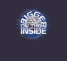 SSE-Bigger on the Inside-Blue Unisex T-Shirt