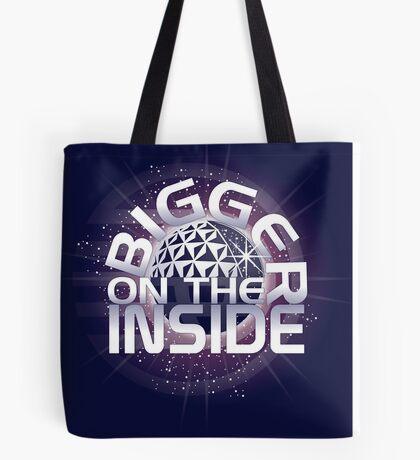 SSE-Bigger on the Inside-Purple Tote Bag