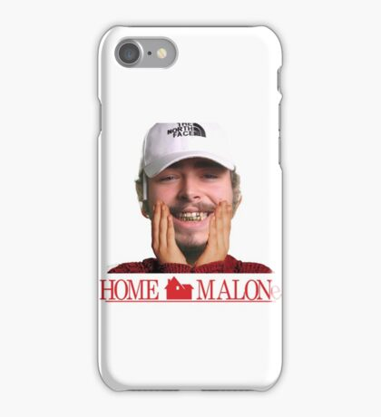 POST MALONE - HOME MALONE iPhone Case/Skin