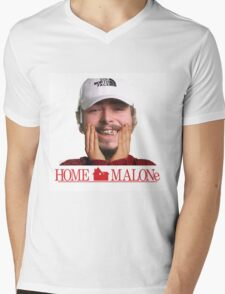 POST MALONE - HOME MALONE Mens V-Neck T-Shirt