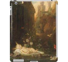 Vintage famous art - Gustave Moreau - The Infant Moses 1876  iPad Case/Skin