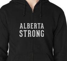 Alberta Strong (unisex) - Support Ft Mac Zipped Hoodie