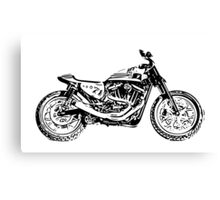Harley Davidson Flat Tracker Canvas Print