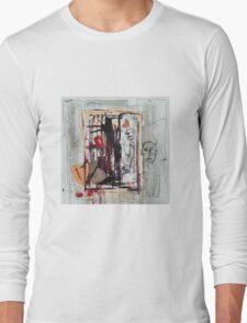 Abstract Characters  Long Sleeve T-Shirt