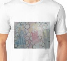 A collection of anime/videogame outfits set to clocks Unisex T-Shirt