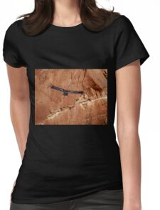 California Condor in the Wild 10 - In Flight Womens Fitted T-Shirt