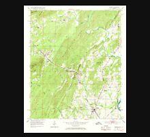USGS TOPO Map Alabama AL Vincent 305303 1951 24000 Unisex T-Shirt
