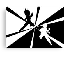 - Clash -  (graphic) Canvas Print