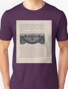 Etude de la Plante Maurice Pillard Verneuil 1903 102 Plant Study Botany T-Shirt