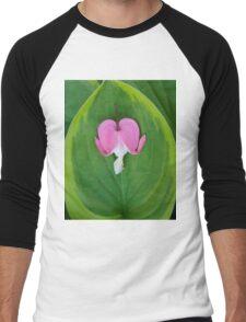 Delicate Heart Men's Baseball ¾ T-Shirt