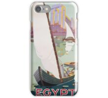 Vintage famous art - Hashim - Egypt Poster iPhone Case/Skin