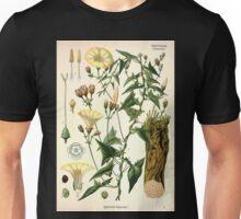 Köhler's Medizinal Pflanzen in naturgetreuen Abbildungen mit kurz erläuterndem Texte  Atlas zur Pharmacopoea 1883 1914 V3 028 Convolvulus Scammonia Unisex T-Shirt