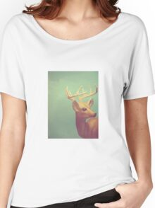 Graceful Buck - Digital Still Life Women's Relaxed Fit T-Shirt