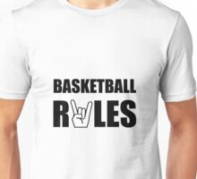 Basketball Rules Unisex T-Shirt