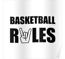 Basketball Rules Poster