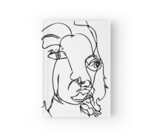 Blind Contour Portrait Hardcover Journal