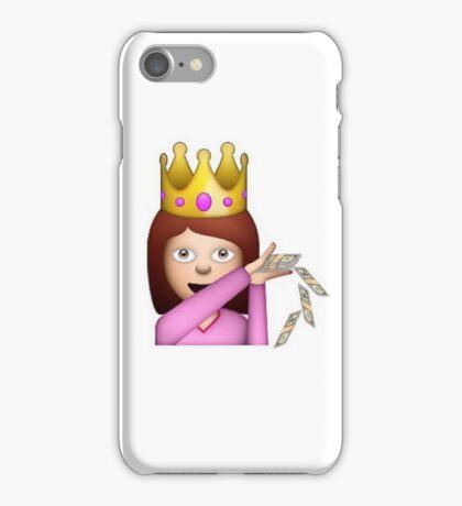 Emoji Queen Make it Rain iPhone Case/Skin