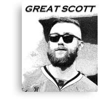 Great Scott [Darling] Canvas Print