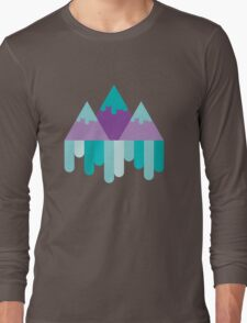 Geometric Mountains Long Sleeve T-Shirt