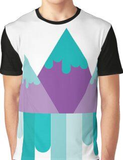 Geometric Mountains Graphic T-Shirt