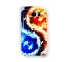 Fire and Ice Samsung Galaxy Case/Skin