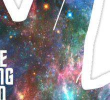 Star Trek - Galaxy - Live Long and Prosper Sticker