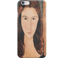 Amedeo Modigliani - Portrait Of A Young Girl iPhone Case/Skin