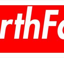 The North Face Supreme Box Logo Sticker