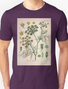 Köhler's Medizinal Pflanzen in naturgetreuen Abbildungen mit kurz erläuterndem Texte  Atlas zur Pharmacopoea 1883 1914 V2 004 Foeniculum Capillaceum T-Shirt