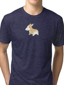 Cute Corgi Tri-blend T-Shirt