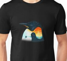 Penguin Sunset Unisex T-Shirt