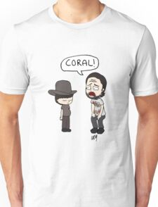 The Walking Dead, Coral meme illustration Unisex T-Shirt