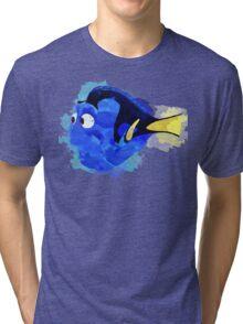Dory Watercolor Tri-blend T-Shirt