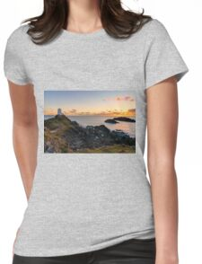Llanddwyn Island National Nature Reserve Womens Fitted T-Shirt