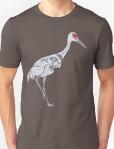 Sandhill Crane Unisex T-Shirt