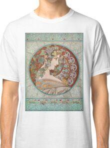 Alphonse Mucha - Ivy  Classic T-Shirt