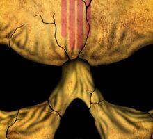 New Mexico Flag Skull Sticker
