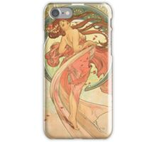 Alphonse Mucha - Dance iPhone Case/Skin