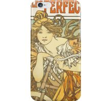Alphonse Mucha - Cycles Perfecta  iPhone Case/Skin